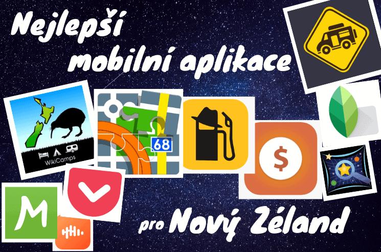 Nejlepší mobilní aplikace na cestování po Novém Zélandu