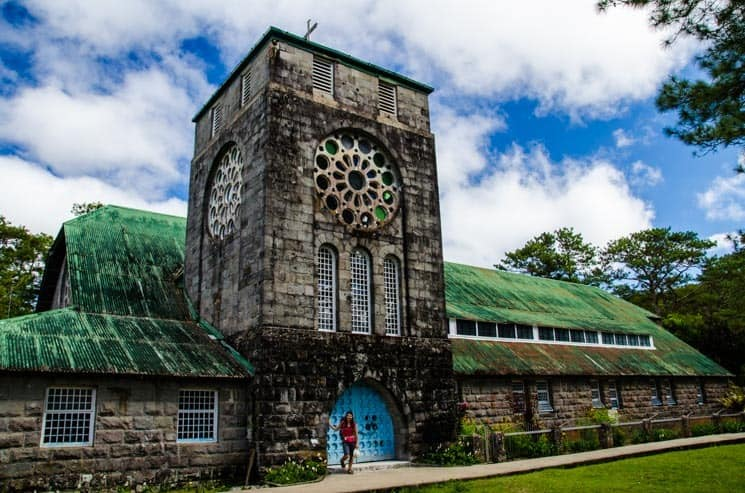 The Church of Saint Mary the Virgin in Sagada. Luzon, the Philippines