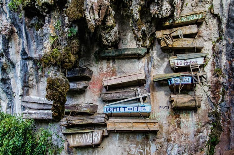 Hanging Coffins, Sagada, Luzon, the Philippines