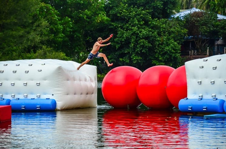 Water park: The Challenge Phangan No. 1. Among Best things to do in Koh Phangan
