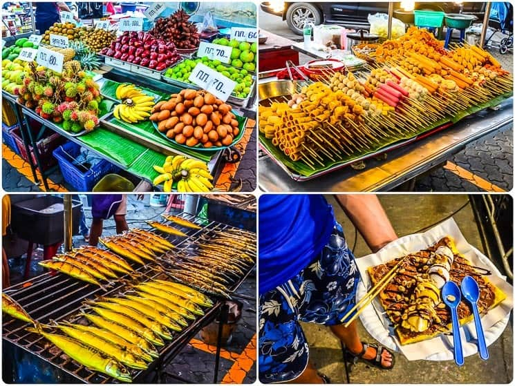 You will fell in love with Thai evening markets, Best things to do in Koh Phangan