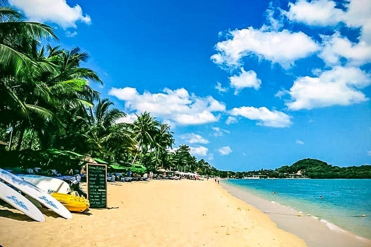 Bo Phut Beach,Best Things to do in Koh Samui  Koh Samui, Thailand Blog