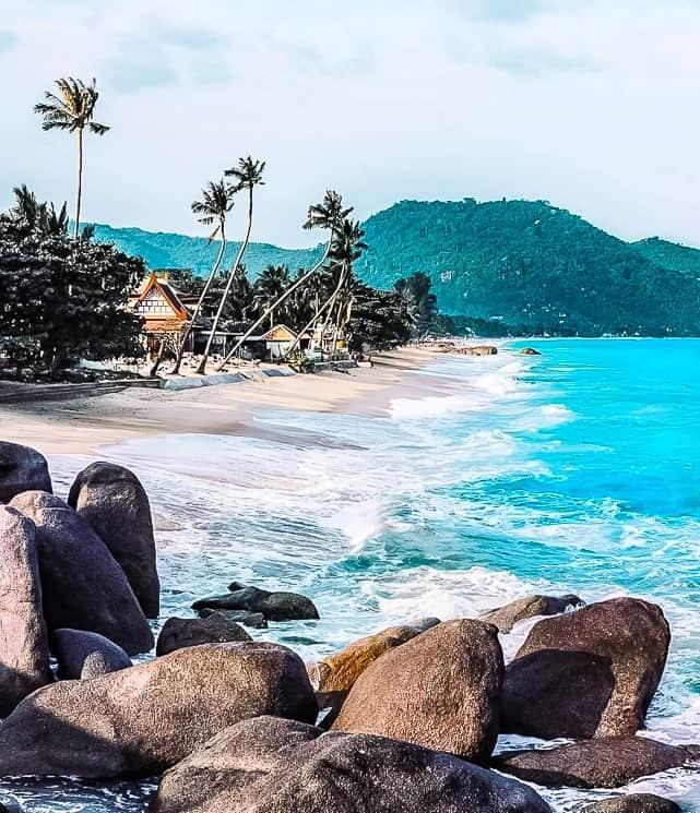 Lamai Beach, Koh Samui, Thajsko
