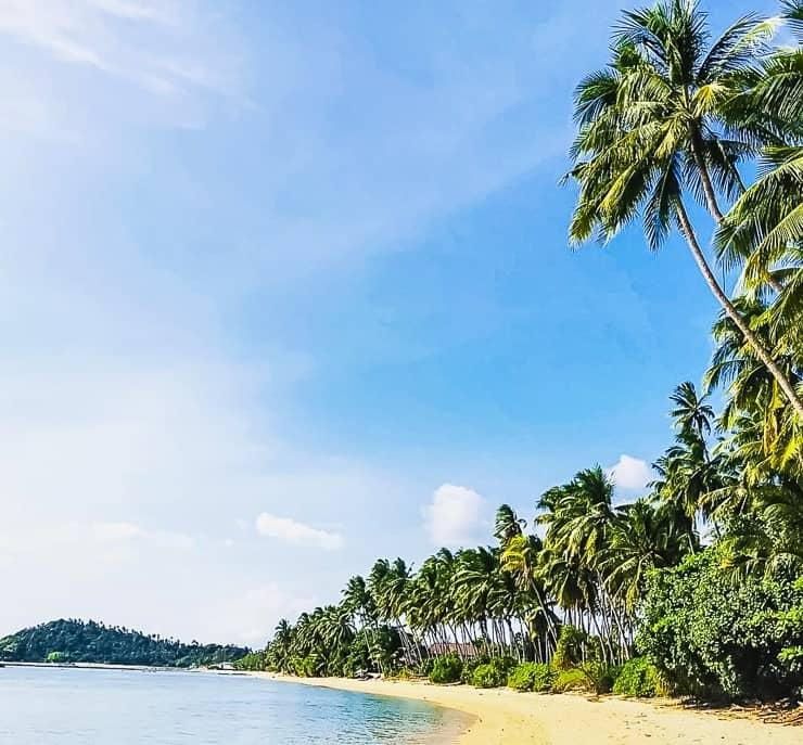 Lipa Noi Beach, Koh Samui Blog, Thajsko