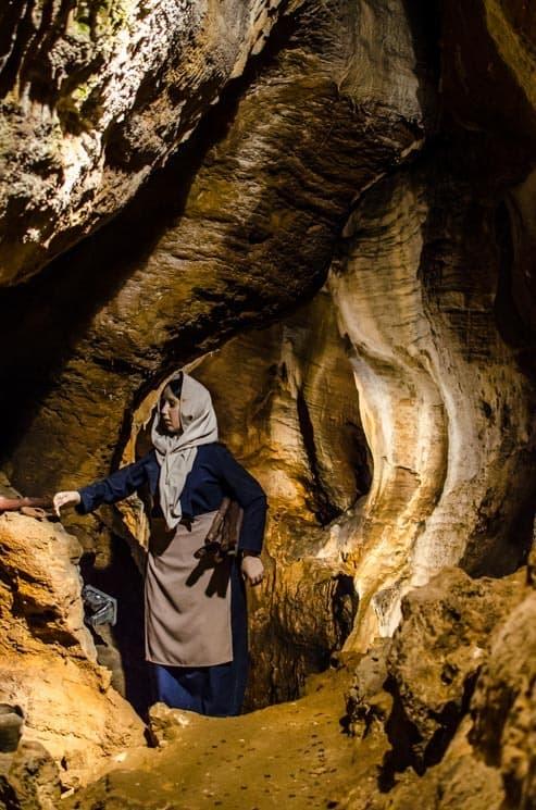 Místo bývalé penězokazecké dílny, Koněpruské Jeskyně