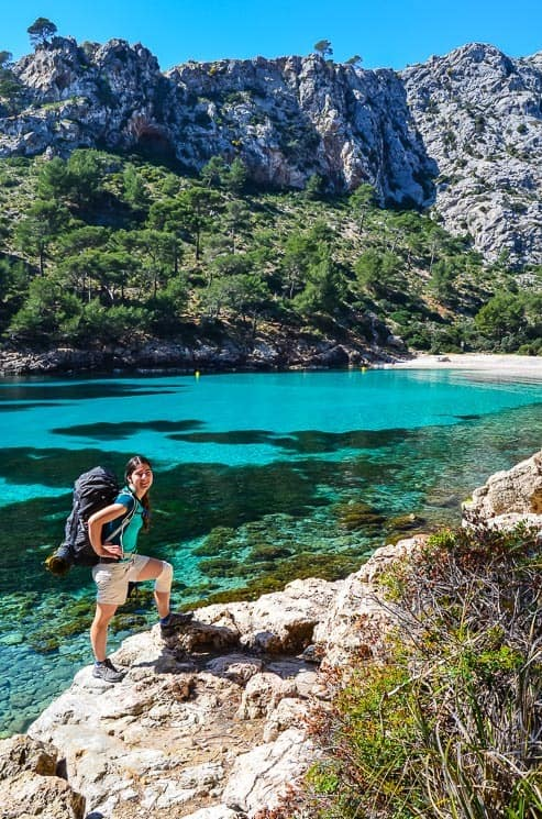 Sea has a wonderful color in Mallorca