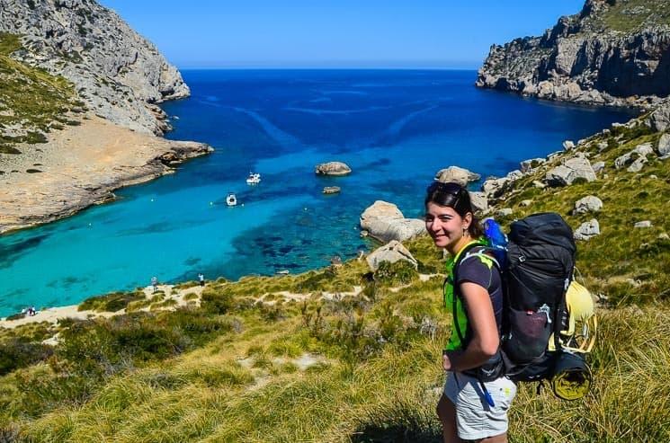 Nádherná pláž Cala Figuera