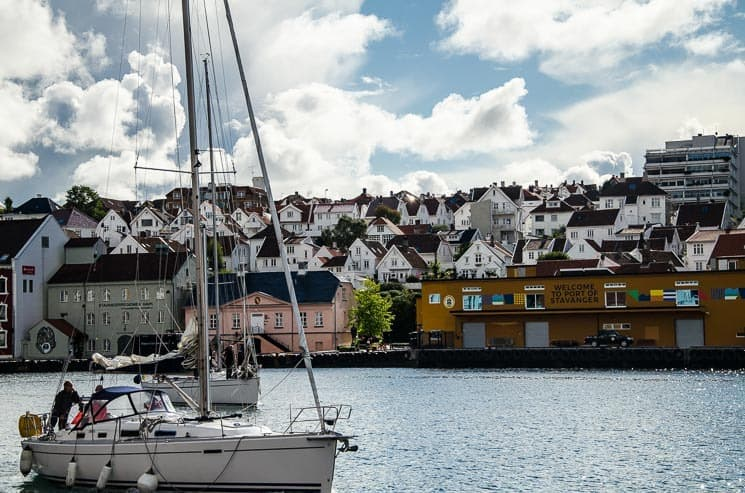 Přístav ve Stavangeru