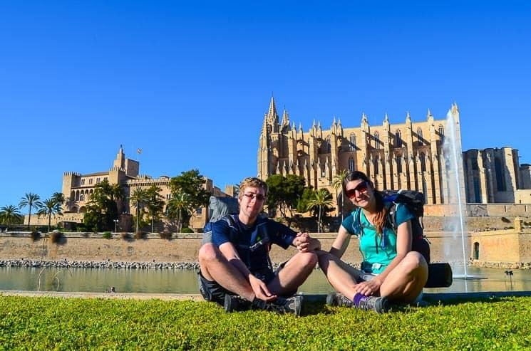 Katedrála v Palma de Mallorca