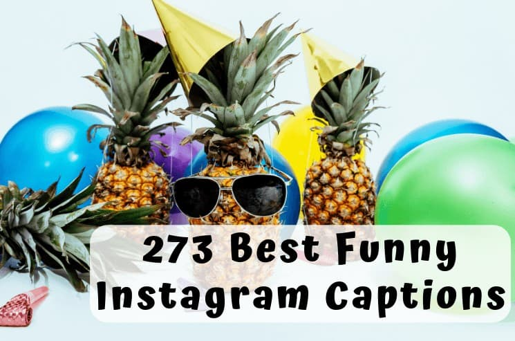 Here is Your ultimate list of the best funny Instagram captions you can easily copy and paste and be an Instagram hero!