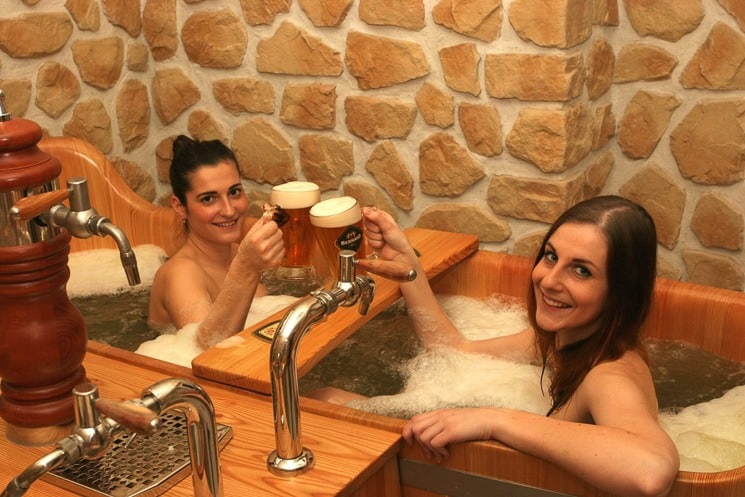 Beer Spa Prague Bernard