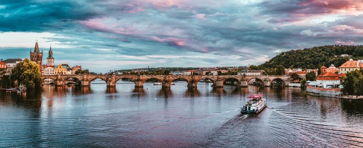 Charles Bridge has been an important part of Prague for centuries