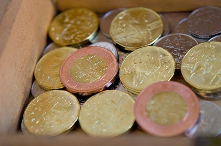 Czech Republic Currency - coins.
