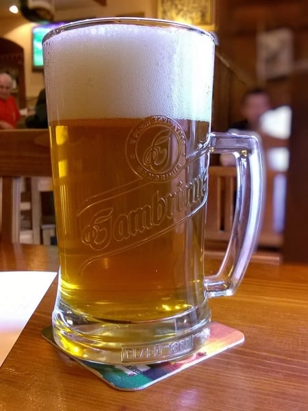 Gambrinus Czech Beer