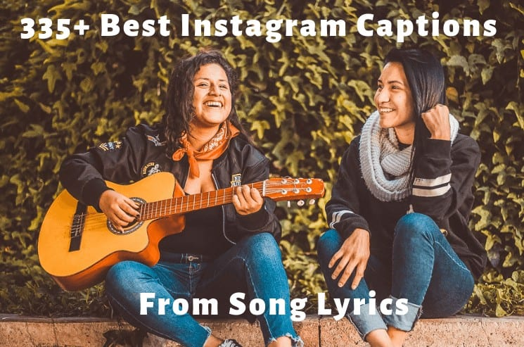 Here is Your ultimate list of the best Instagram captions lyrics you can easily copy and paste to be an Instagram hero!