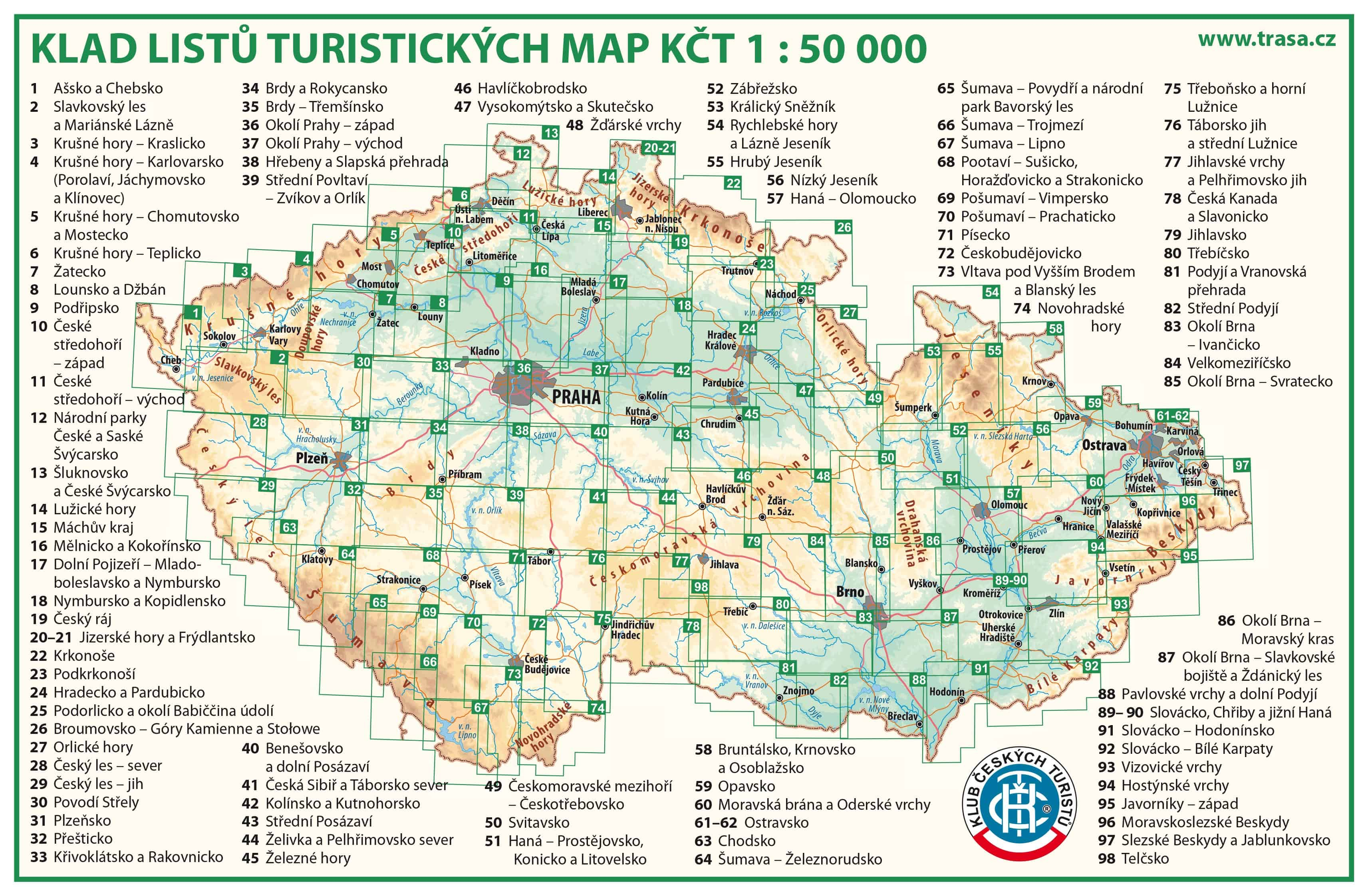 Turisticka Mapa Cr Online Offline Do Mobilu Papirove Ke Stazeni