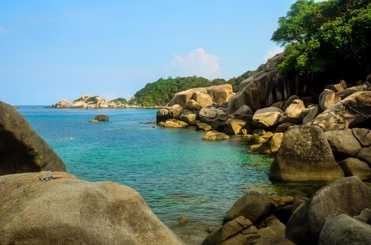 Hi Wong Bay - great snorkeling spot. Best things to do in Koh Tao