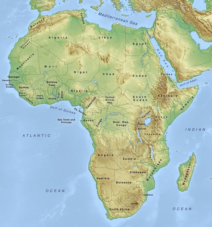 Mapa Světa ?️: Ke Stažení, Podrobná, Slepá, Politická