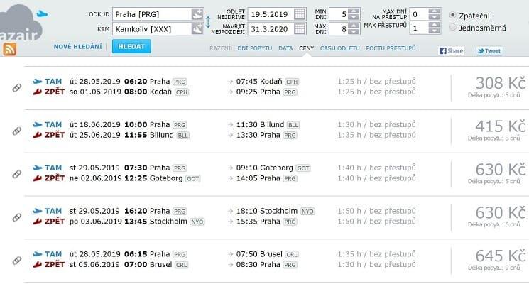 AZair umí najít opravdu velmi levné letenky