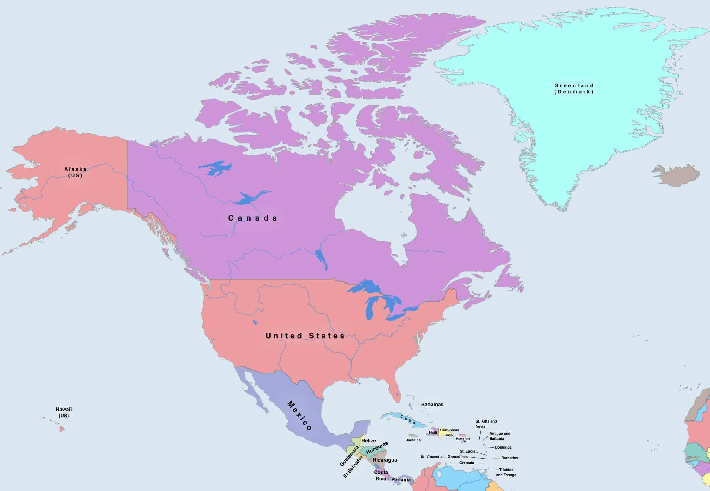 Mapa Sveta Ke Stazeni Podrobna Slepa Politicka Online