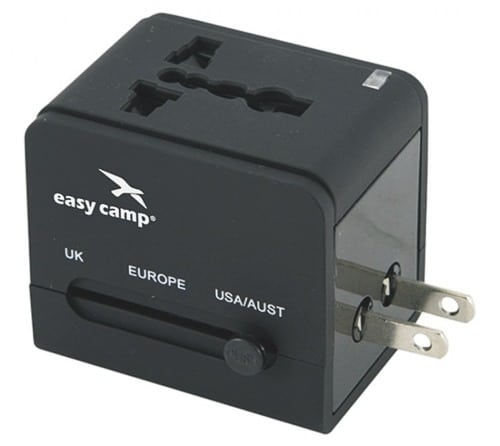 Easy Camp Travel Adapter na cesty