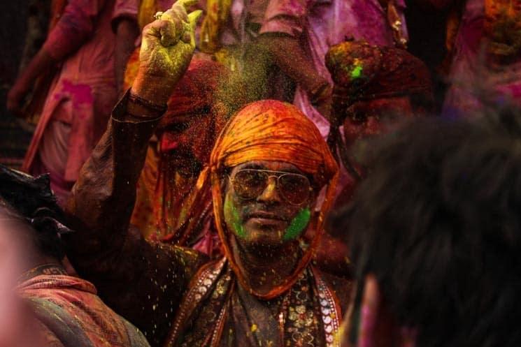 Svátek Hólí se v Indii i Nepálu slaví ve velkém