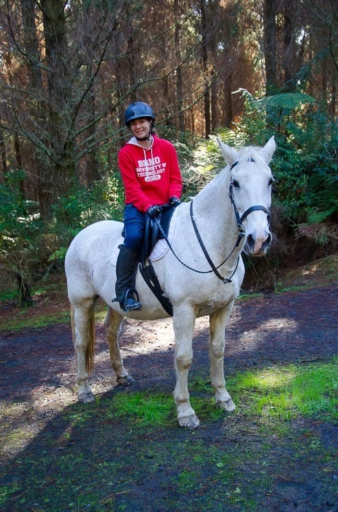 Once, we were invited for a horseback ride before we even did house sitting for those owners.