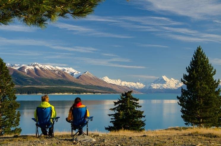 Lake Tekapo, Nový Zéland