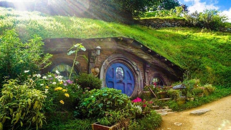 Hobbiton a malé hobití domečky, Matamata