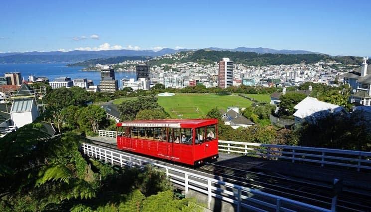 Malebné hlavní město Wellington