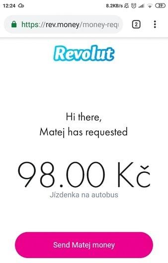 Payment via URL link