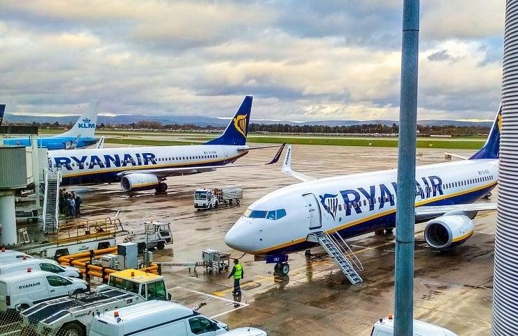 Ryanair letadla