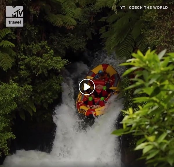 Czech the World - MTV Travel Rafting