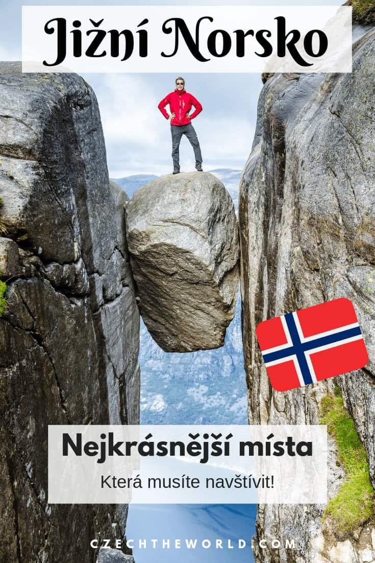 Jižní Norsko - nejkrásnější místa, která musíte navštívit!