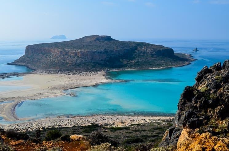 Pravděpodobně nejkrásnější pláž Kréty.