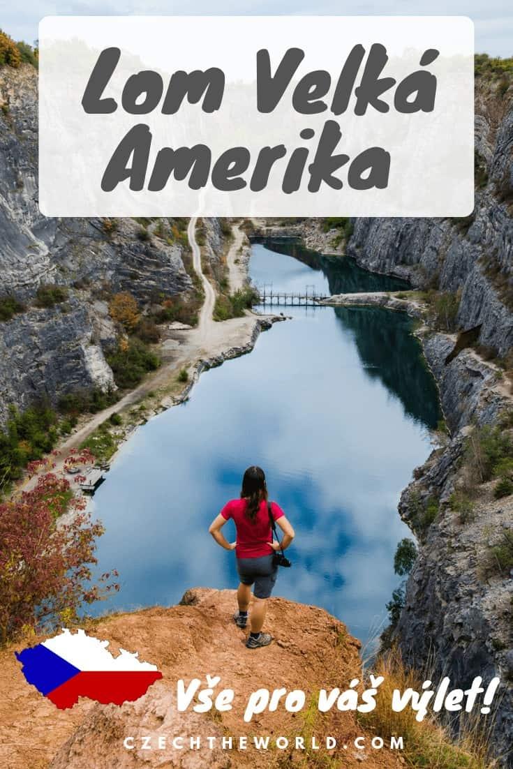 Lom Velká Amerika - Výlet do českého _Grand Canyonu_