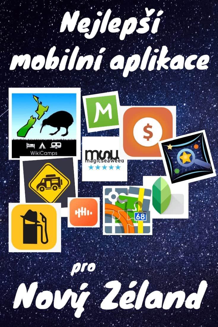 Nejlepší mobilní aplikace pro cestování po Novém Zélandu