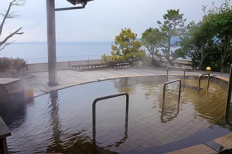 Tradiční japonské lázně Onsen
