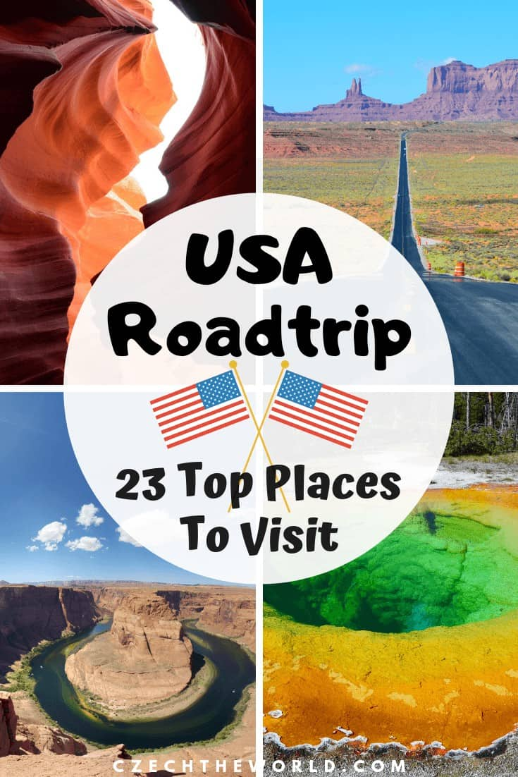 Road trip USA – 23 Best places to see! - Czech the World