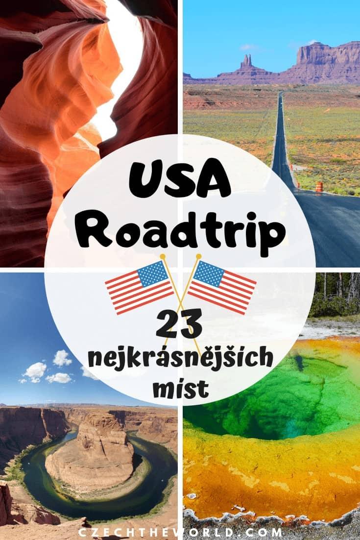 Road trip USA - 23 nejkrásnějších míst, která musíte navštívit!
