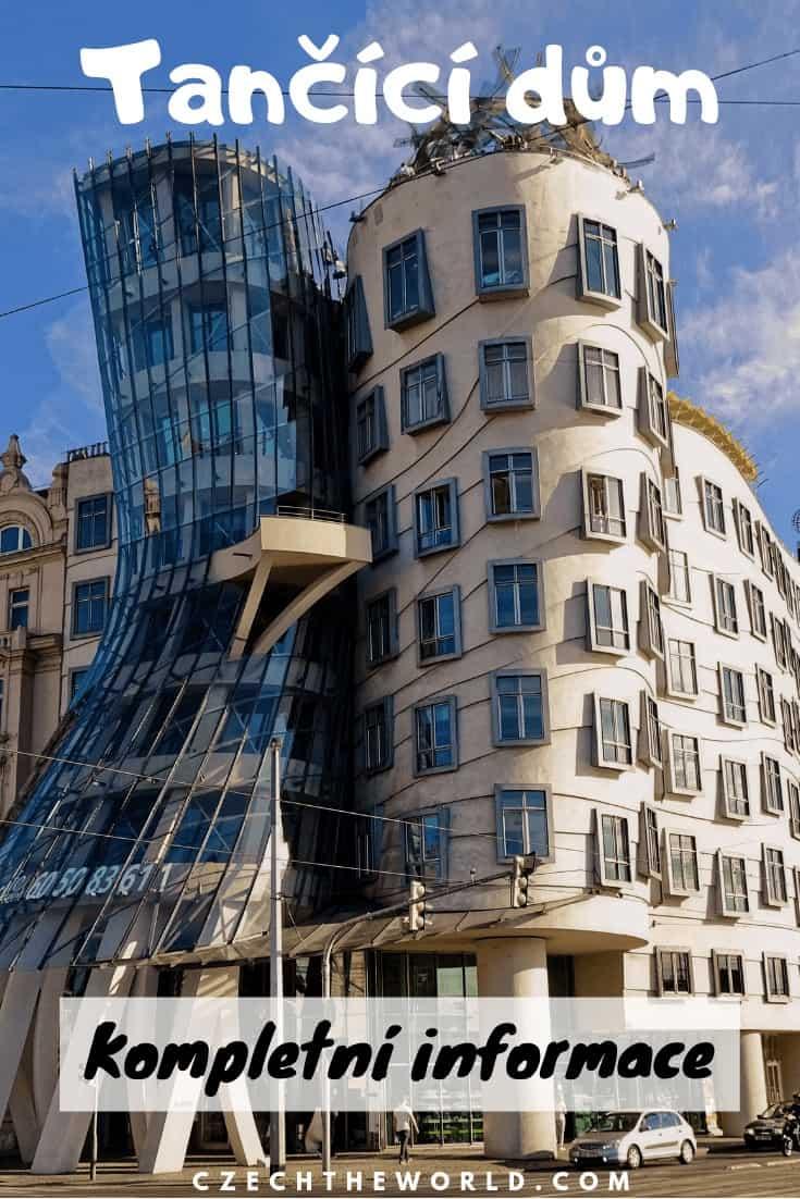 Tančící dům Praha - Kompletní informace_ vyhlídka, bar, galerie, výstavy