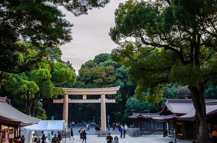 Svatyně Meiji Jingū