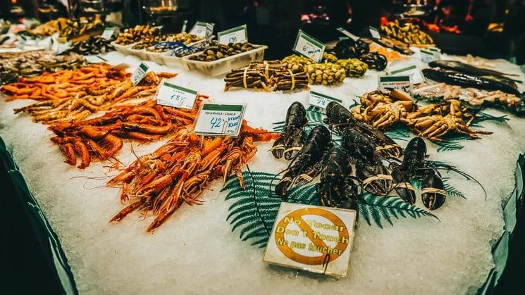 Tokio rybí trh Tsukiji