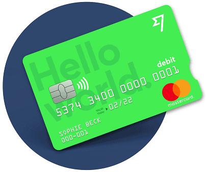Platební karta TransferWise