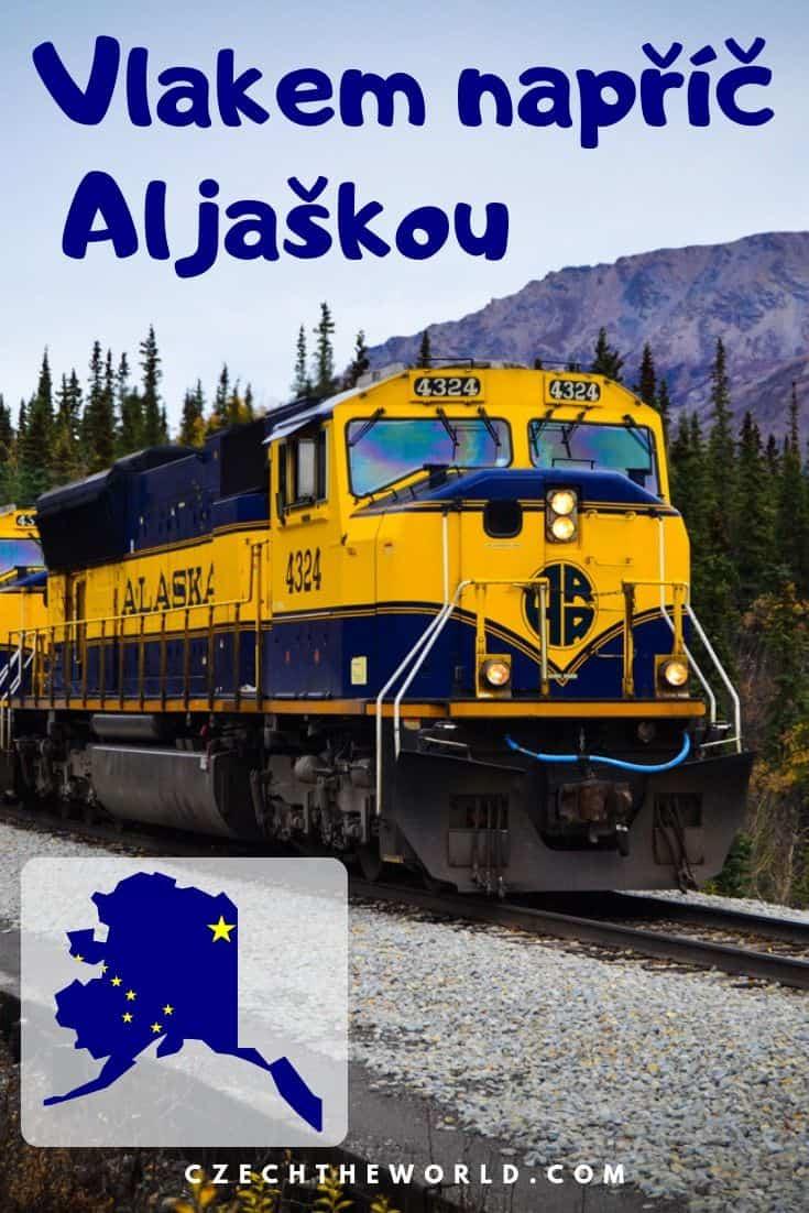 Vlakem napříč Aljaškou