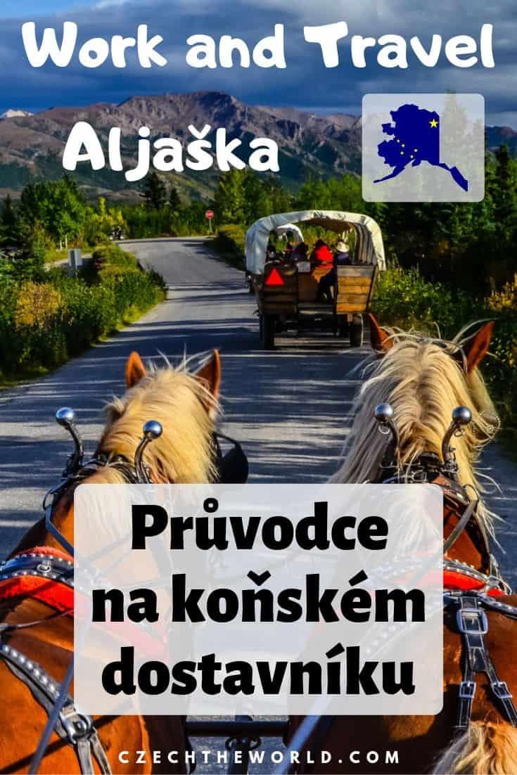 Work and Travel Aljaška_ Průvodce na koňském dostavníku