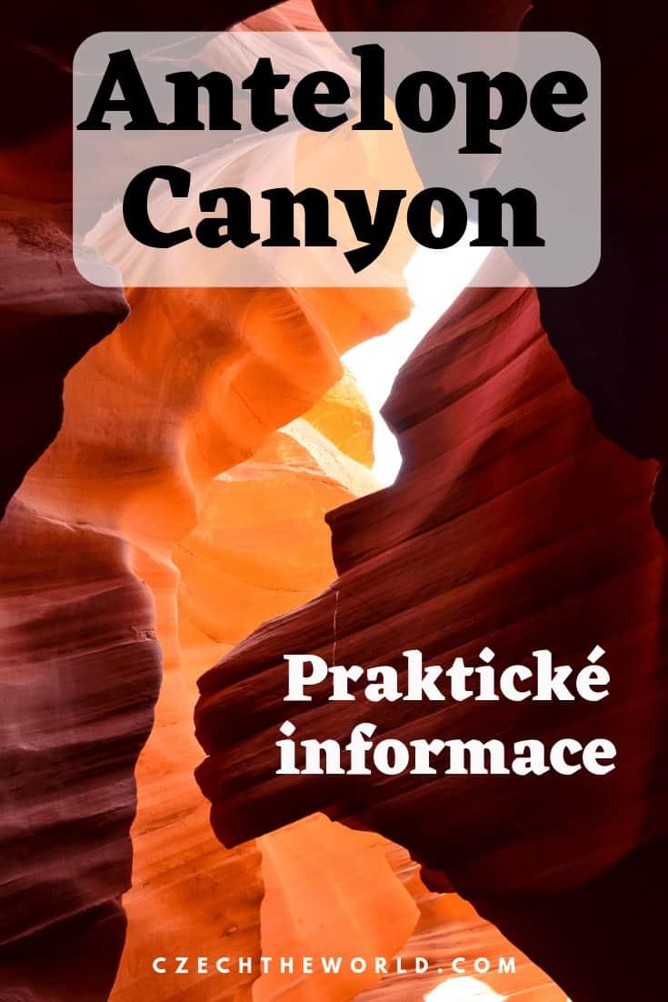 Antelope Canyon - antilopí kaňon