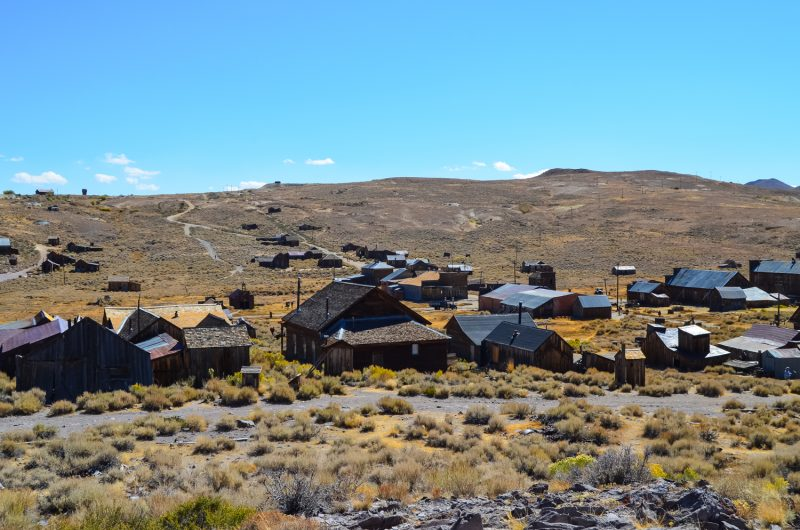 Bodie State Historic Park Ghost Town California