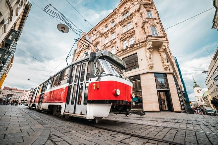 "Tram. People in the Czech Republic call it ""Tramvaj"", we call in ""Šalina"" in Brno. Things to Do in Brno"