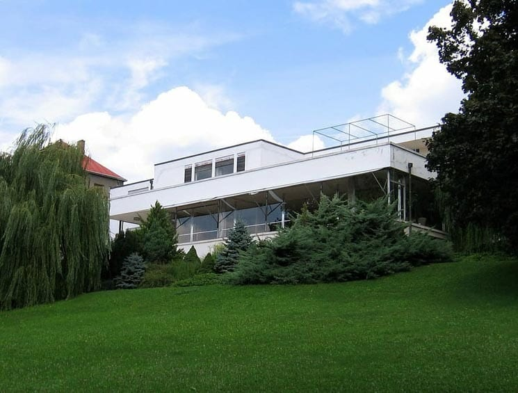 Vila Tugendhat from its garden. Things to Do in Brno
